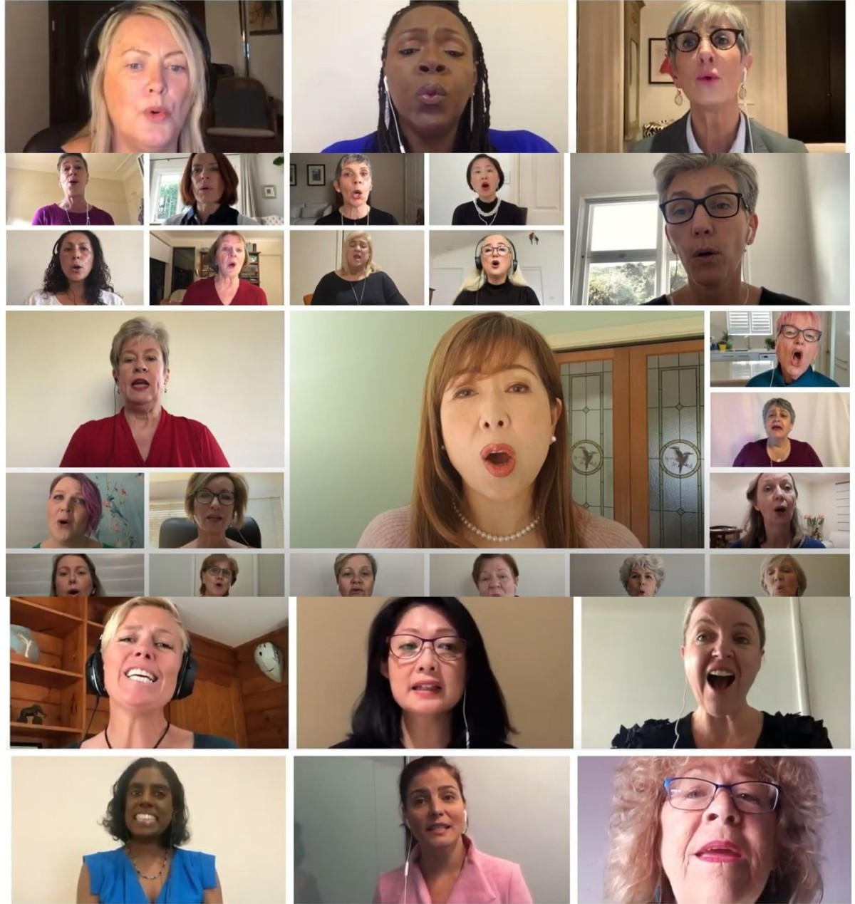 DAY SIXTEEN: Lifting our voices to end violence against women: the Hummingsong choirs